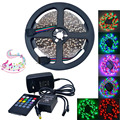 25 W LED Light Strip RGB 300-3528SMD w/Música Controlador de LED (DC 12 V/5 m)