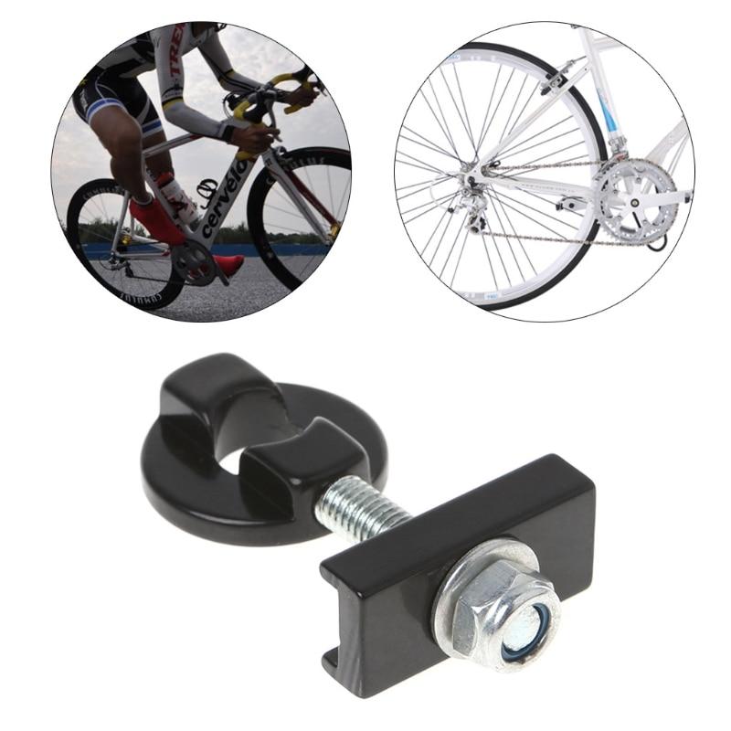 """Ajustador De Corrente De Bicicleta Tensor da liga Fixador Parafuso Para 14/"""" Bicicleta de velocidade única"""