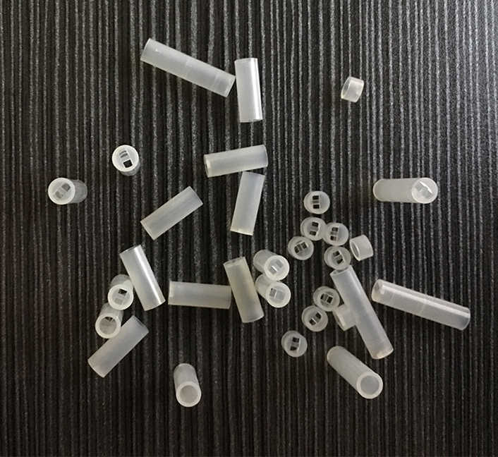 1000pcs 5*5 5x5 5*6 5x6 5x7 5*7 OD*L White Cylindrical Round LED PCB Board Mount Support Pillar Isolation Column Hood Spacer