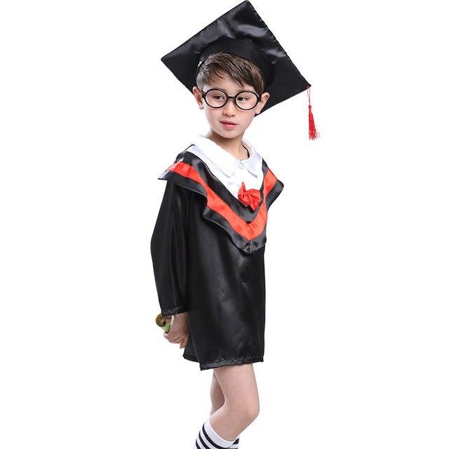 Online Shop Children Halloween Cosplay Costume Kids Graduation ...