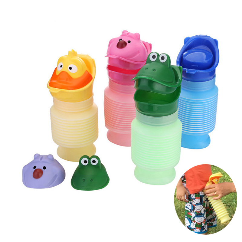 Portable Reusable Camping Car Travel Pee Urinal Toilet Family Portable Toilet Urine Adult Travel Potty Emergency Toilet Pee Pot