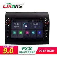 LJHANG Android 9,0 автомобильный DVD для Fiat Ducato 2008 2015 CITROEN Jumper PEUGEOT Boxer 1 Din мультимедийный автомобильный радиоприемник стерео gps wifi ips