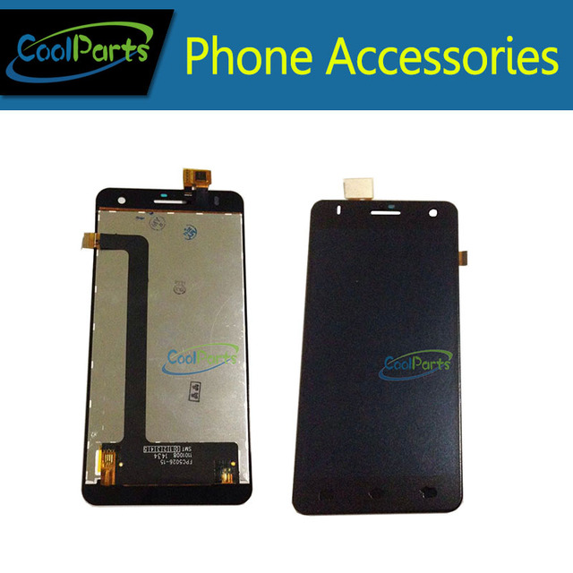 1PC/Lot High Quality Black  Color For Fly IQ4512 LCD Screen Display And Touch Screen Replacement Free Shipping