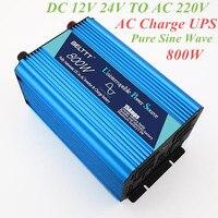 Yvesor belttt,800W UPS inverter Pure Sine Wave Inverter 12V 24V to AC 220V CE Certification