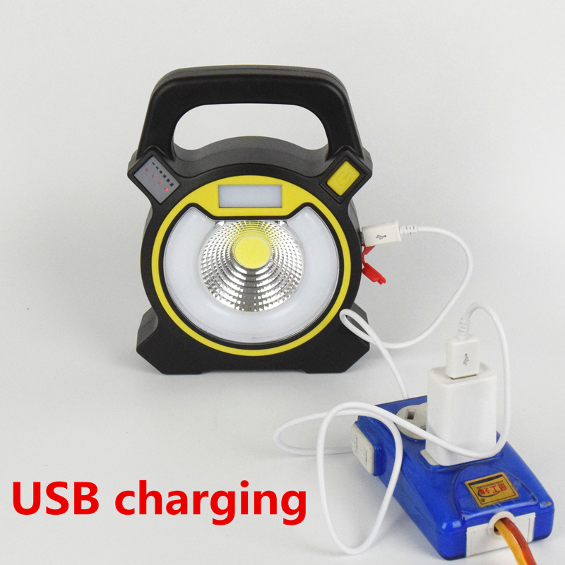 30 W 2400lm Led Cob Portable Lanterne Rechargeable Camping Lumiere