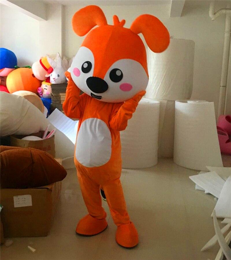 Chien mascotte personnage Costume chien Cosplay tenues taille adulte déguisement Costume dessin animé mascotte