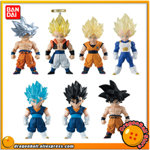 """Dragon Ball Super"" Original BANDAI ADVERGE Special Collection Figure - Full Set of 7 Pcs Son Goku Vegeta Gogeta Vegetto(China)"