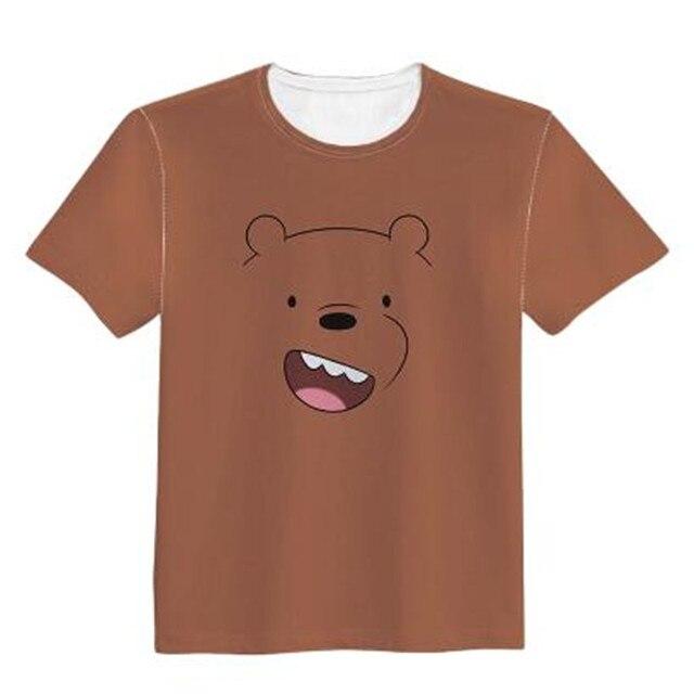 Футболка с принтами мультфильма Мы обычные медведи в ассортименте 5