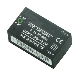 Image 1 - 220 V to 12 V step down power module converter Intelligent household switch HLK PM12 UL / CE