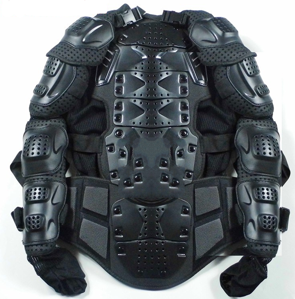 Riding motorcycle safety jacket armor vests / riding gear / armor fall proof safety jack ...