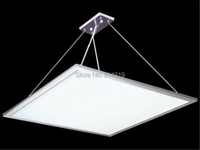 48w 600x600 Suspended Square LED Down Lamp For Office School Bathroom Coridor Ceiling Light