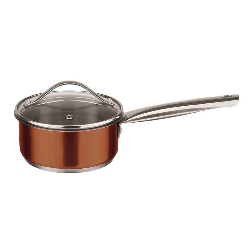 Bucket with lid Esprado Guarda 1 l straw bucket bag with ring handle