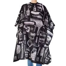 Professional products Pattern Cutting Hair Waterproof Cloth Salon Barber Cape Cover Hairdressing Hairdresser Apron Haircut capes(China)