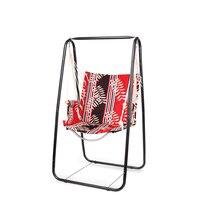 Открытый небольшой распашные Многофункциональный общежитии висит кресло бытовой балкон сад ткань Оксфорд качели с металлический кронштей