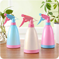 Face Moisturizing Spray Bottle Hairdressing Watering Flowers Clean Candy Color Watering Hand Pressure Type Refillable Bottles
