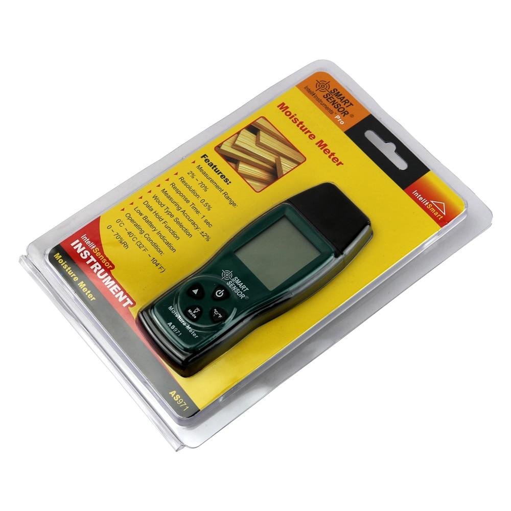 Wilgotnościomierz drewna Tester wilgotności Drewna Detektor wilgoci - Przyrządy pomiarowe - Zdjęcie 6