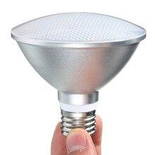 E27 9W/12W/15W PAR20 PAR30 PAR38 עמיד למים IP65 LED ספוט אור מנורת הנורה מקורה תאורת Dimmable AC85 265V