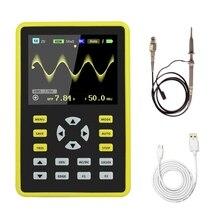 Портативный цифровой мини-осциллограф с пропускной способностью 100 МГц и частотой дискретизации 500 мс/с 5012H 2,4 дюймовый ЖК-дисплей