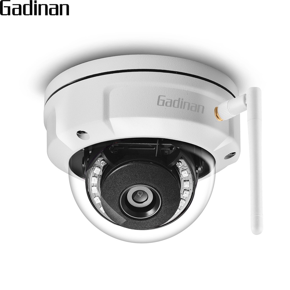 GADINAN iCSEE Dome IP Camera Vandal-proof 5MP 2592*1944 WiFi 2.4G Wireless Wired Security Cam with Built-in Micro SD Card SlotGADINAN iCSEE Dome IP Camera Vandal-proof 5MP 2592*1944 WiFi 2.4G Wireless Wired Security Cam with Built-in Micro SD Card Slot