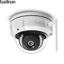 GADINAN iCSEE kamera ip kopułkowa wandaloodporna 5MP 2592*1944 WiFi 2.4G bezprzewodowa przewodowa kamera bezpieczeństwa z wbudowanym gniazdo karty micro sd