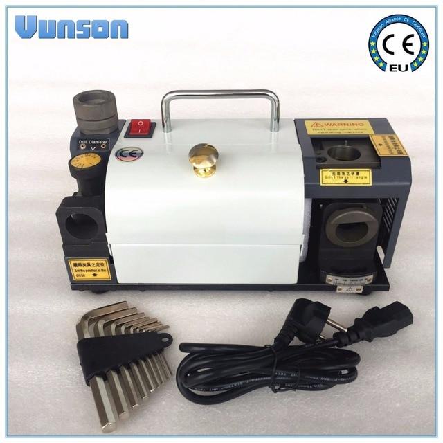 Brocas de 3 a 13mm para amoladora afiladora, ángulo de 90 a 145 grados, rueda de amoladora para brocas de material HSS, 11 Uds.