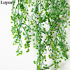 Luyue Artificial Plant Vines wall hanging green plant Chlorophytum decorative PVC Simulation plants orchid fake Flower rattan 4