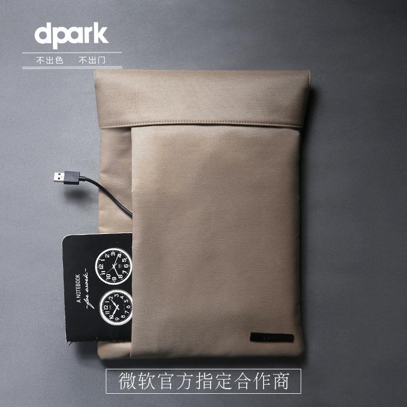 Envío gratis D-park Microsoft Surface Pro 4/3 bolsa / caja, nueva - Accesorios para laptop - foto 6