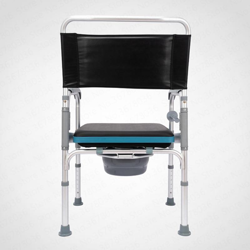 chaise de toilette pliable pour personnes agees pour salle de bain pour femmes enceintes mobile maison