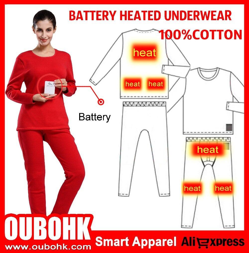 Heated Long Underwear