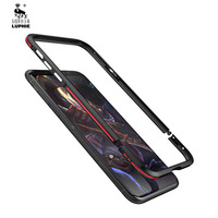 Luphie Metal Bumper Case For Iphone X Luxury Aviation Aluminum Frame Phone Cases Cover For Iphone