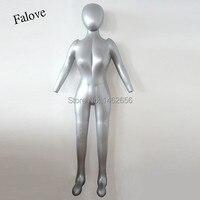 Free Shipping!! New Female Full Body Hat Dress Pants Inflatable Mannequin Dummy Torso Model