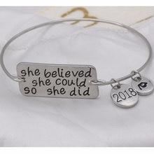 Она верила что она может так себе сделала браслеты вдохновляющие