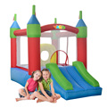 YARD Bouncy Castle Inflatable Bouncer Moonwalk Trampoline with Blower