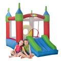 Yard inflável castelo inflável moonwalk bouncer trampolim inflável com ventilador