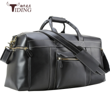 travel bags for man cow leather 2017 men black real vintage casual business  duffle handbags shoulder