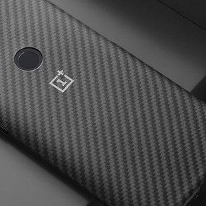 Image 5 - מקורי OnePlus OnePlus 5 T 5 T Karbon מגן מקרה להגן עליך באופן טבעי חומר בשימוש Kevlar Bulletproof שריון