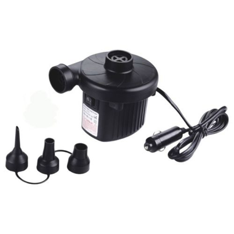 12V AC Car Electric Air Pump For Camping Airbed Truck Boat Toy Inflator /4800PA ...