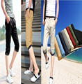 2015 Summer Style Men's Fashion Shorts Casual  Joggers Trousers Wave Point decoration 8 colors, Plus Size M-3XL