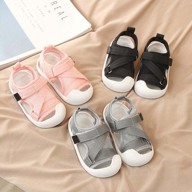 de alta qualidade crianças anti-colisão sapatos de praia