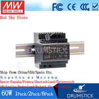 (2 حزمة) ميانويل 60 واط الصناعية الدين السكك الحديدية امدادات الطاقة HDR 60 24V/5/12/15/48 1.25/2.5A 4/4. 5/6. 5A رقيقة 91% عالية الكفاءة DR/MDR-في وحدة تحويل التيار الكهربي من تجميل المنزل على