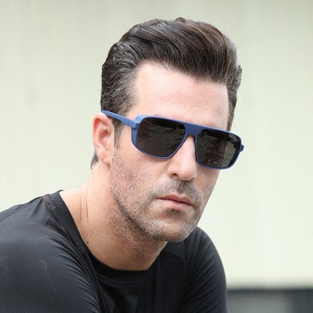 Long Keeper Light-weight Polarized Men Punk Retro Sun Glasses Steampunk Driving  Mirror Reflective Sunglasses Women Goggles 2