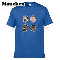 Người đàn ông Stephen Curry Klay Thompson Kevin Durant Draymond Xanh T-Shirt Quần Áo T Áo Sơ Mi Nam của áo thun cho người hâm mộ quà tặng tee W17110606