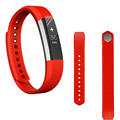 Attractive Soft Silicone Watch band Wrist strap For Fitbit Alta Smart Watch + HD Protective Film Quick release clasp Aug16
