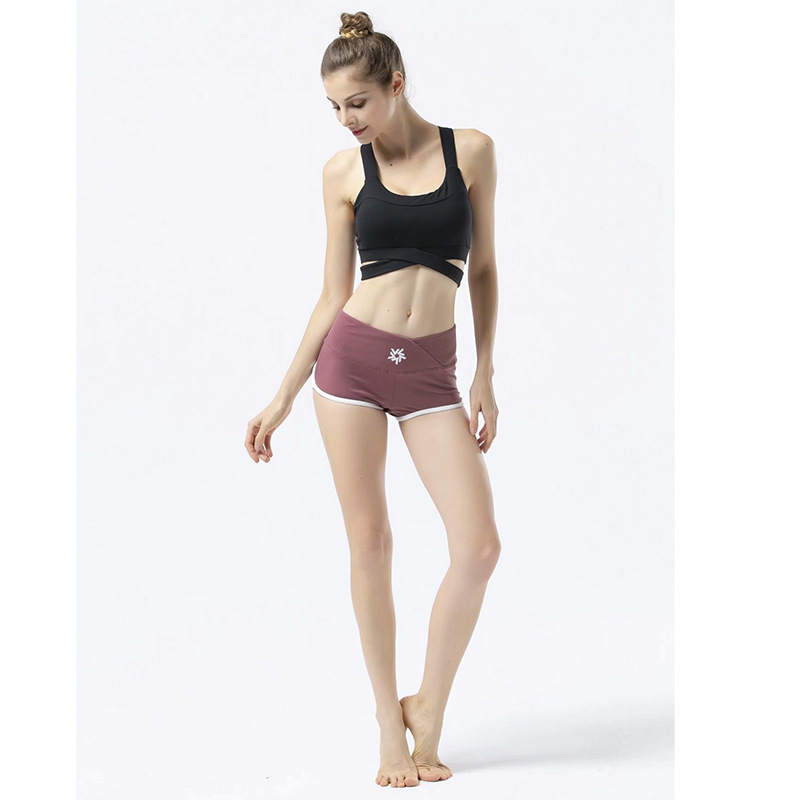 Breathable Sport   Shorts   for Women Running Hot Seamless Boy   Shorts