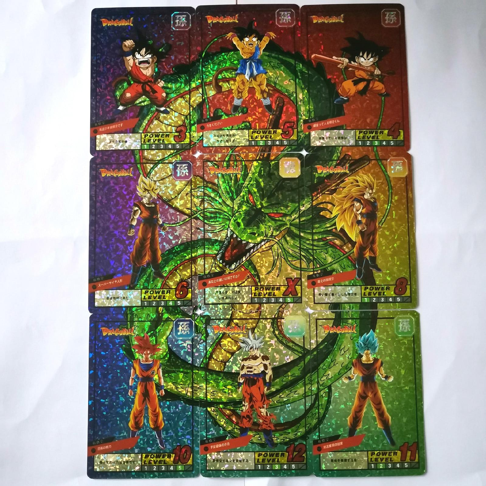 19 Teile/satz Super Dragon Ball Begrenzte Zu 30 Sets Heroes Schlacht Karte Ultra Instinct Goku Buruma Super Spiel Sammlung Karten Up-To-Date-Styling