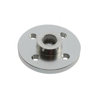 Metal Servo Hub Horn For Humanoid Robot Arm,servo Arm,metal Steering Wheel Small Disc,standard Suitable For Mg996r Mg995 image