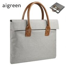 2018 Newest Brand Messenger Handbag 13″,14″,15″,15.6 inch Sleeve Case For MacBook AIR/PRO, Laptop Bag 14″, Free Drop Shipping