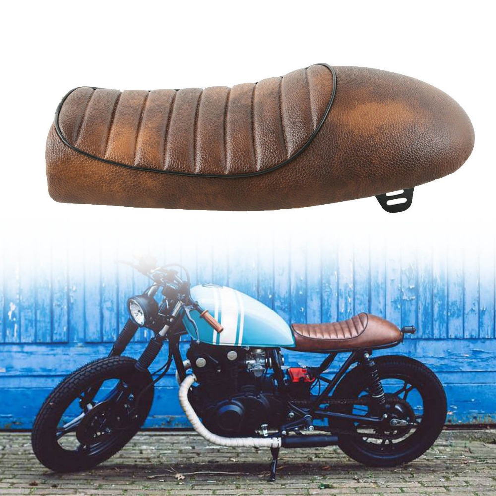 US $46 21 44% OFF|Motorcycle Vintage Cafe Racer Hump Saddle Seat For Honda  CB Suzuki GS Yamaha XJ-in Seats & Benches from Automobiles & Motorcycles on