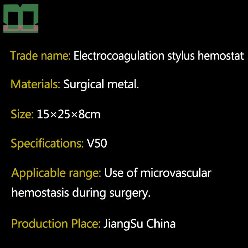 Elektrokoagulacja stylus hemostat metalowa obudowa zatrzymać krwawienie podczas operacji krzepnięcia elektryczne długopis z regulacją temperatury w Przyrządy do powiek od Uroda i zdrowie na  Grupa 3