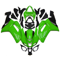 Injection Fairings Fit Kawasaki ZX6R ZX-6R Ninja 636 2007 2008 ABS Motorcycle Fairing Kit Plastic Cowling Green Black Cowlings